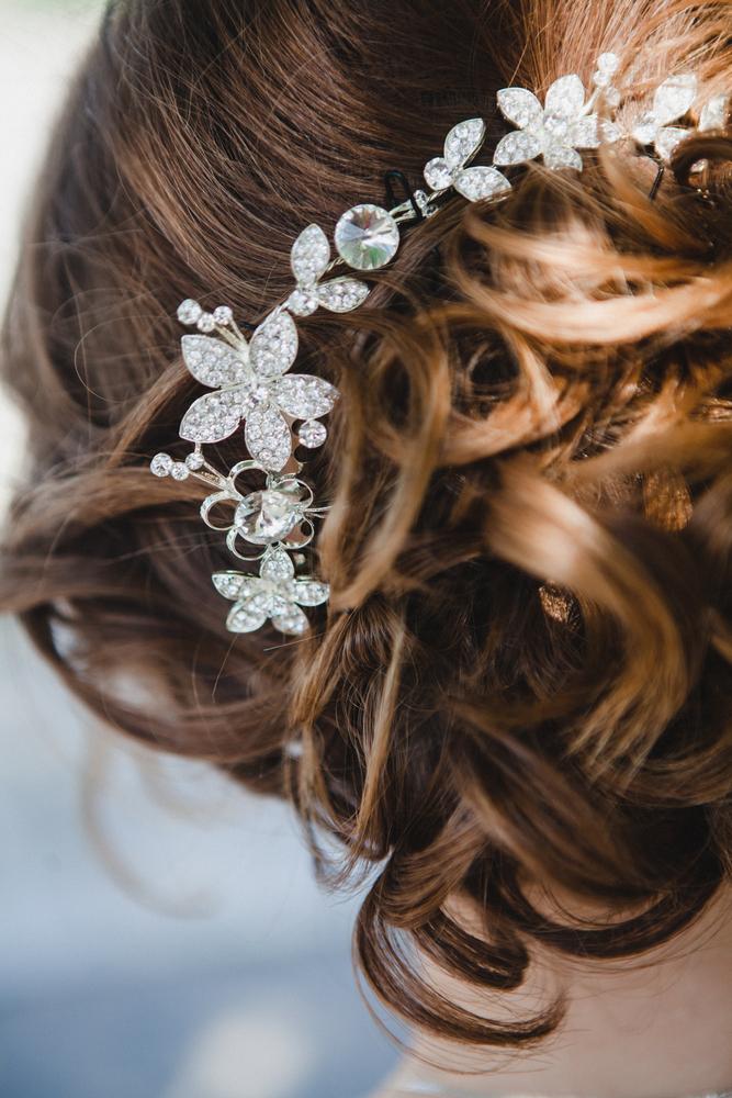 Flot og smukt opsat hår