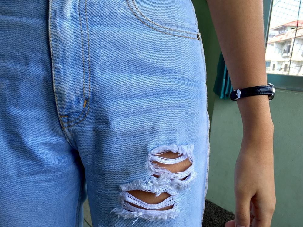 Moderigtige, anderledes jeans